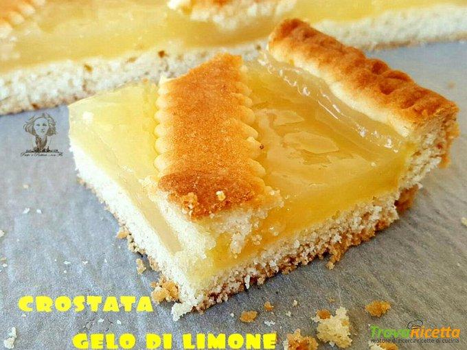 Crostata al gelo di limone