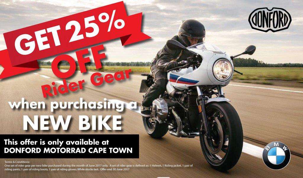 Bmw Donford Motorrad On Twitter Get 25 Off Rider Gear When