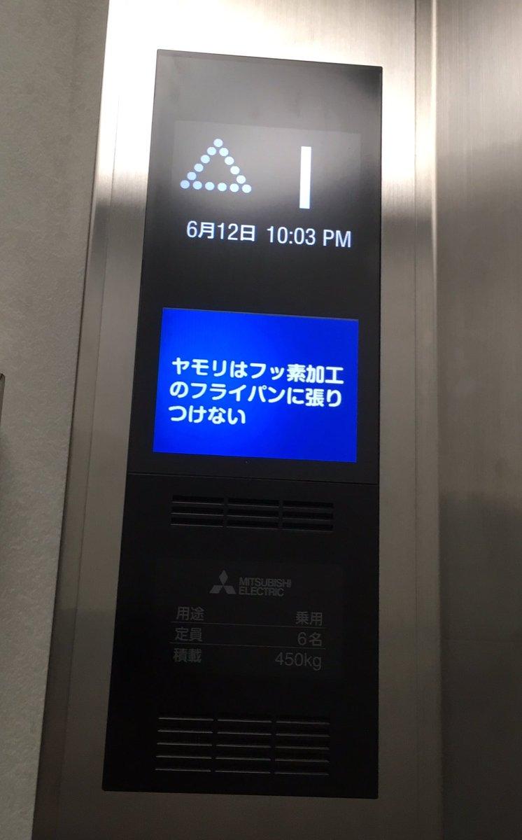 会社のエレベーターに日替わりで表示される今日の雑学的な物がどうでもよ過ぎて本当にどうでもいい。