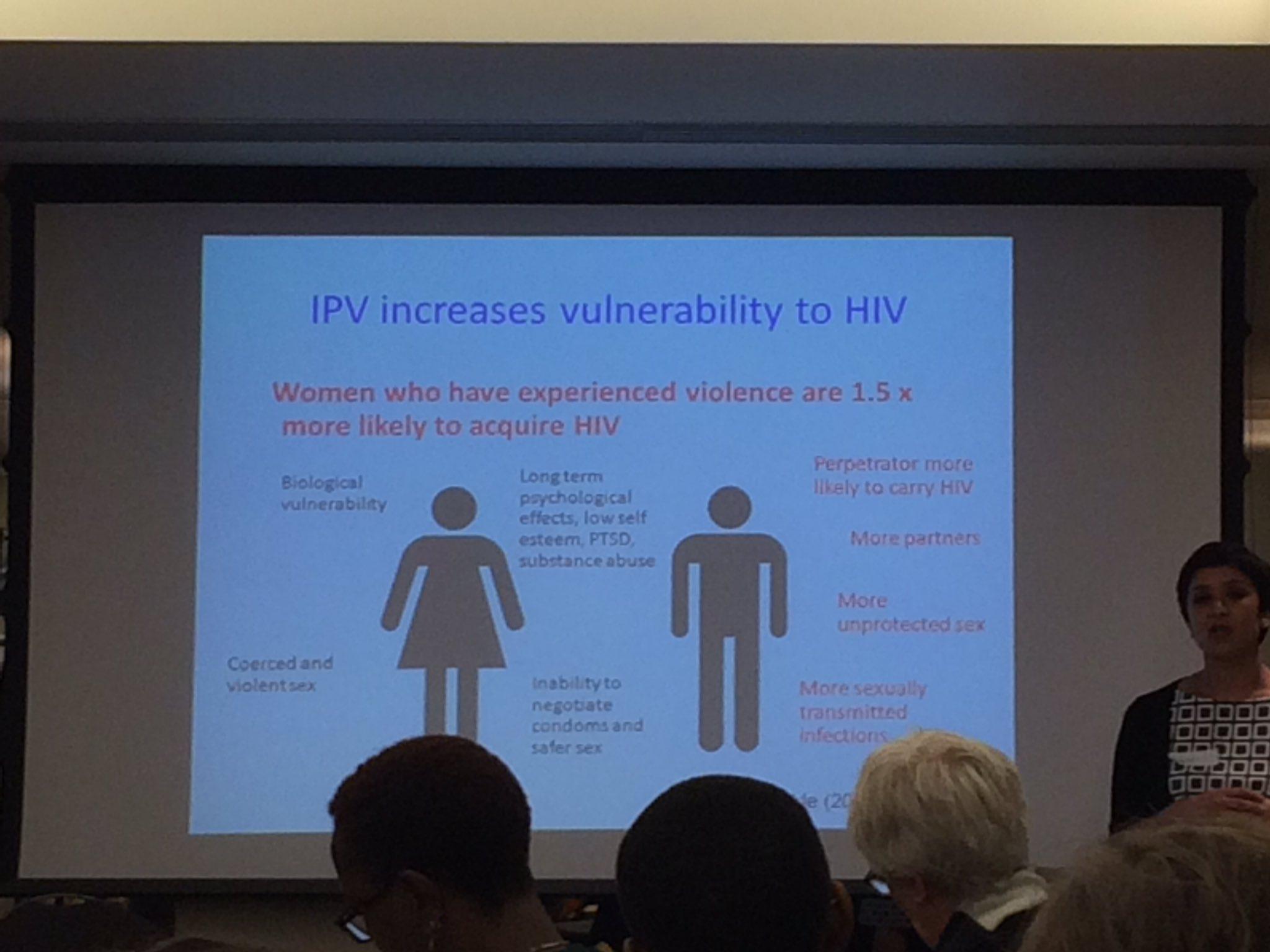 @crageshri talking about #IPV increasing risk to #HIV #swiftwomen @SWIFT_women https://t.co/V7UwRTG908