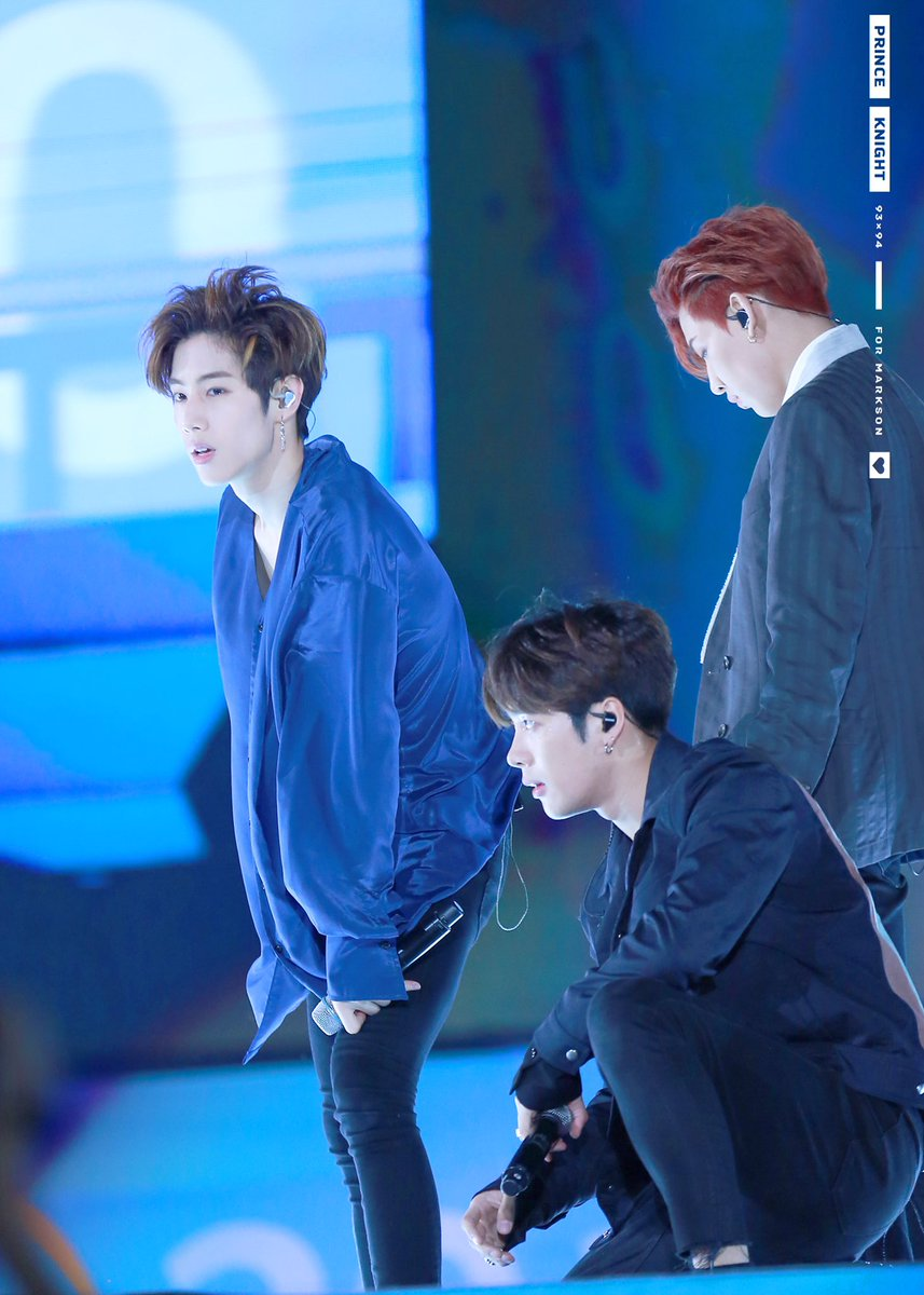 RT @PrinceKnight934: 170609 #GOT7 #갓세븐 #Markson  🔹🔷🔹🔷Should enjoy some sweet music with these photos´ ³`°) ♬︎*.:* https://t.co/sJ685zg5Og