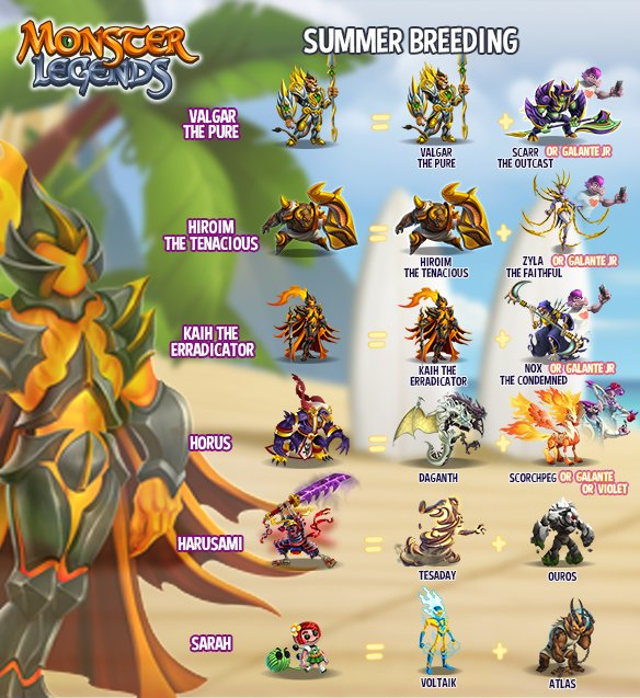 "monster legends on twitter: ""hello! the last part of the summer"