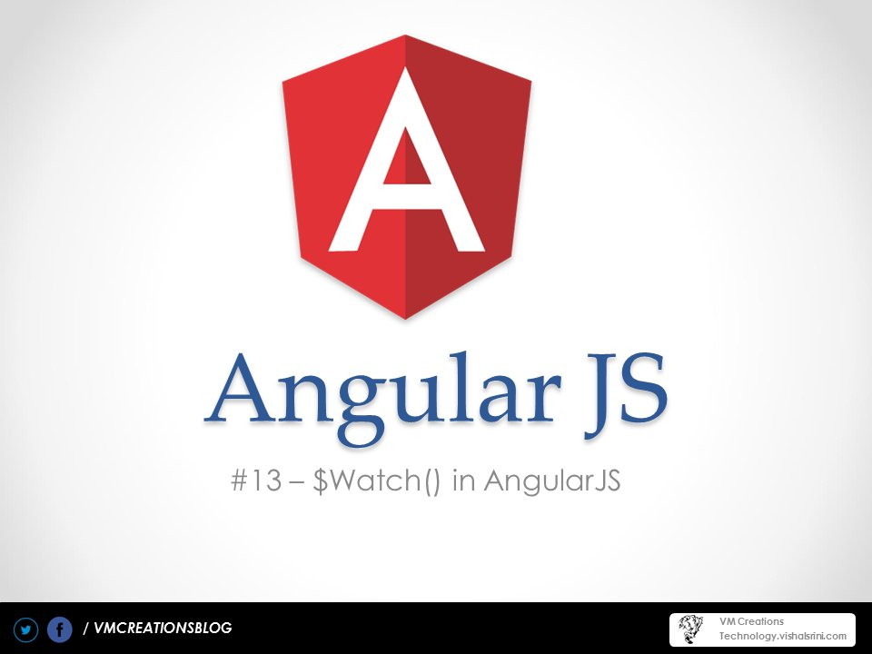 AngularJS Watch function ($watch())