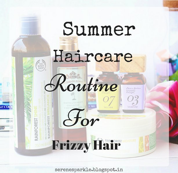 My Summer Hair care Routine For Frizzy Hair