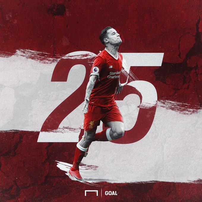 Goal: Happy Birthday Philippe Coutinho