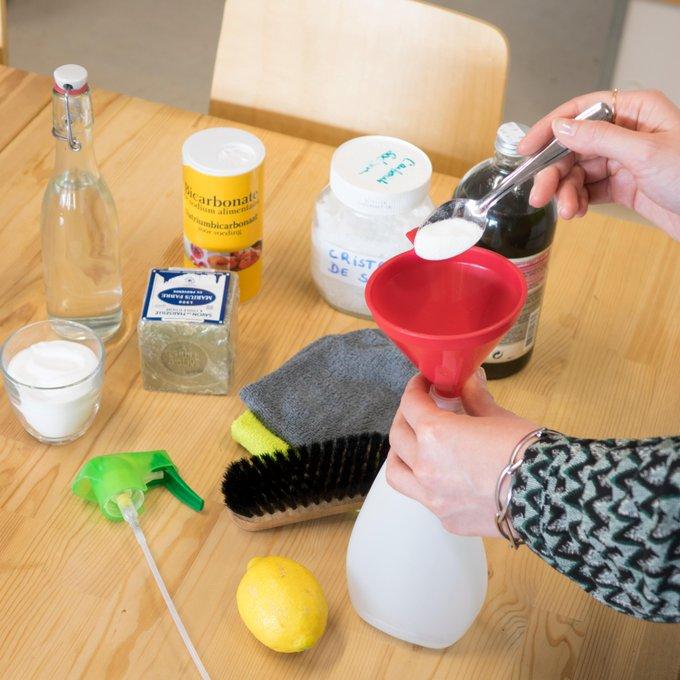 Recette pour faire son nettoyant multi-usage naturel