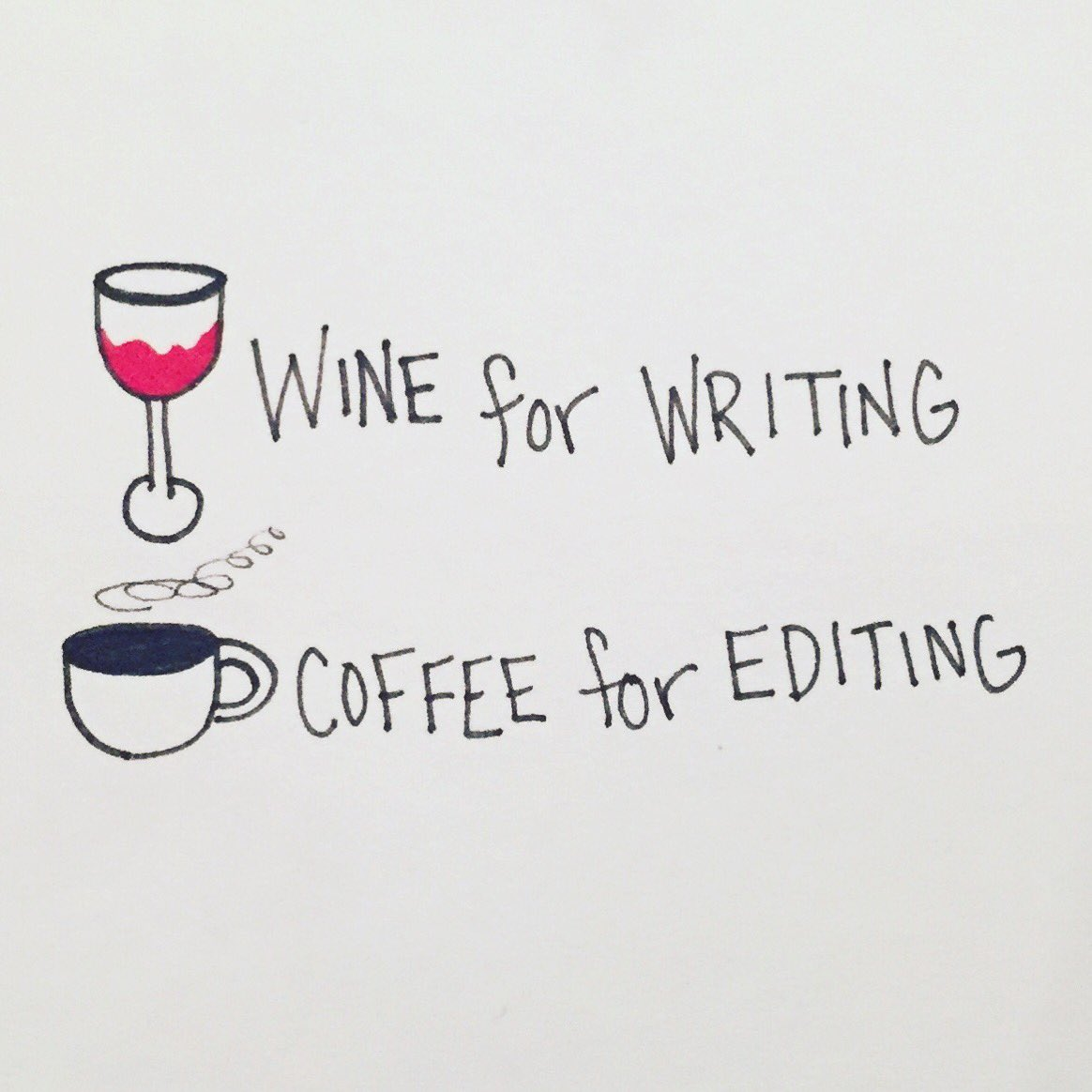 Today is a coffee day. #amediting