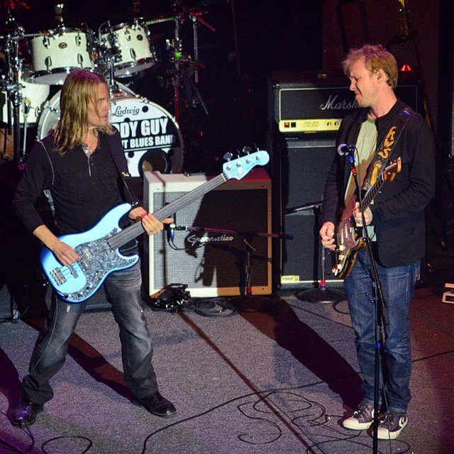 Some great memories.. and great music! Happy Birthday Kenny Wayne Shepherd! Pic: Matthew Lang.