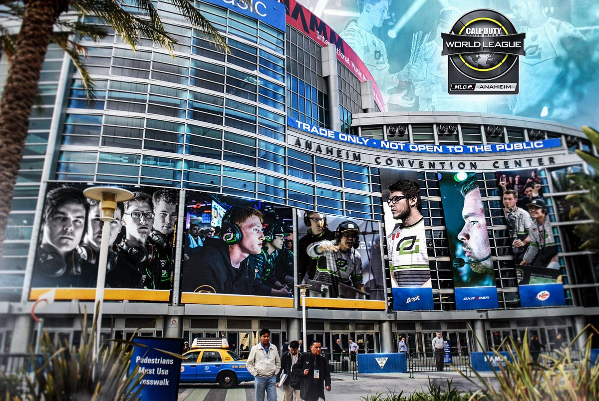 The time has come. @MLG Anaheim.   Join us this week at https://t.co/RyczCYg1Mi #GreenWall #OpTicCoD