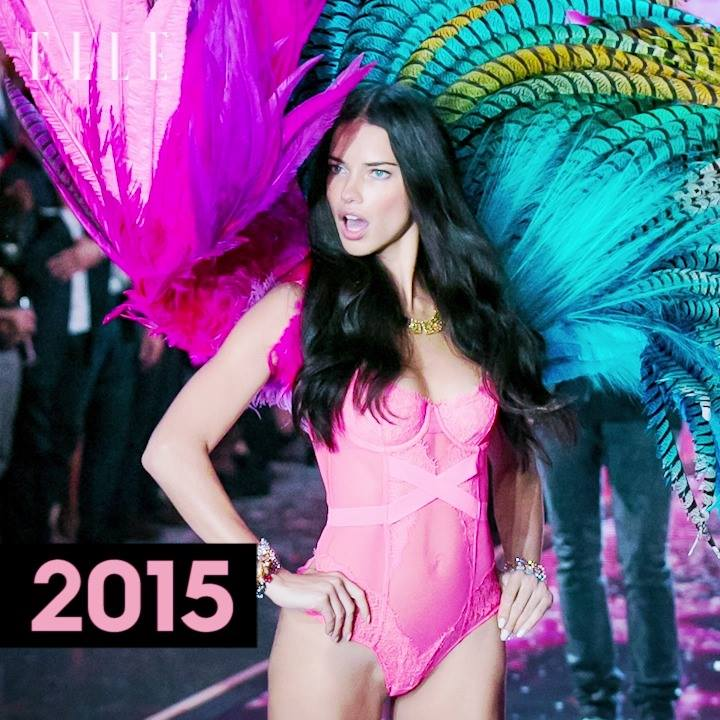 Happy birthday to Adriana Lima, the queen of Victoria\s Secret Fashion Shows: -