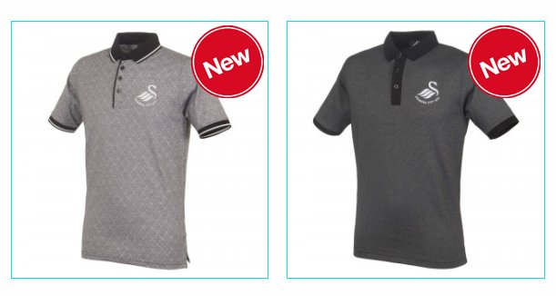 We have a new range of #Swans polos available in store & online 👕...
