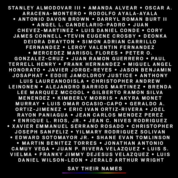 Today we #RememberThe49 lost in the Pulse nightclub shooting in Orlando https://t.co/G01eFY3VLA #OrlandoStrong #PulseNightClub