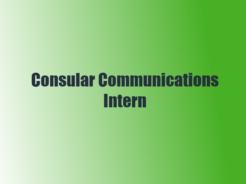 Today is your last chance to apply to be Communications Intern in our Consular Team. Follow the link! https://t.co/fcH3BjBj3t https://t.co/fO9lGWYHKb