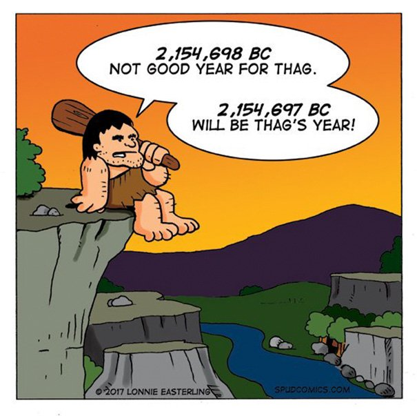 Thought-provoking image of the day #tpiotd #funny #humor #NewYearResolutions #prehistory #anthropology #regrets #Thag #comic #resolution<br>http://pic.twitter.com/Ufjahi8T8A