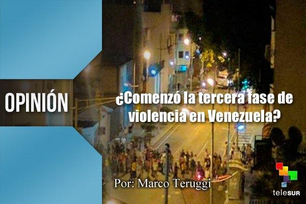Resultado de imagen para ¿Comenzó la tercera fase de violencia en Venezuela?