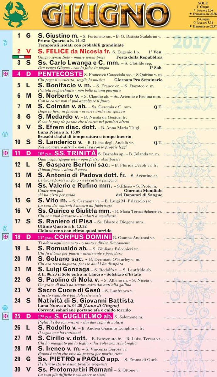 Calendario Frate Indovino.Frate Indovino On Twitter Santorale Frateindovino