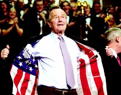 Wishing our 41st U.S. President, George H. W. Bush, a very happy 93rd birthday today!