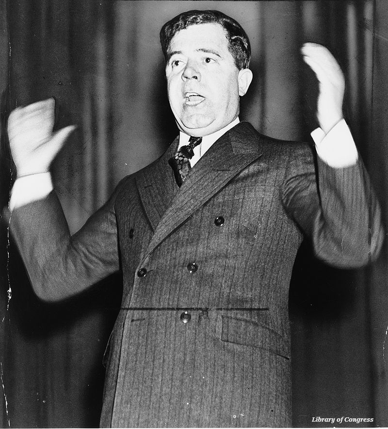 Louisiana senator Huey Long ended a 15+-hour filibuster #OTD in 1935 https://t.co/Fthf6rYnP4 https://t.co/76Oc9nIs1z