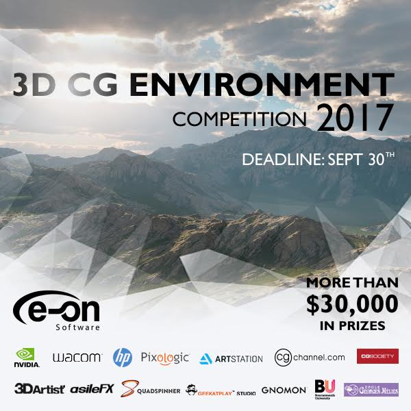 Eon Software 3D CG Environment Competition 2017 t