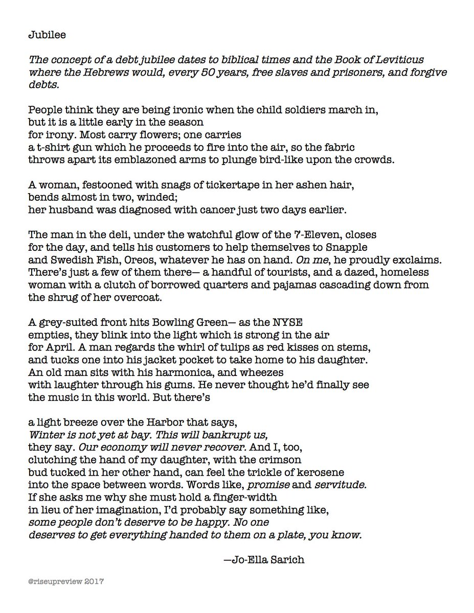 Rise Up Review On Twitter Todays Featured Poem On Https