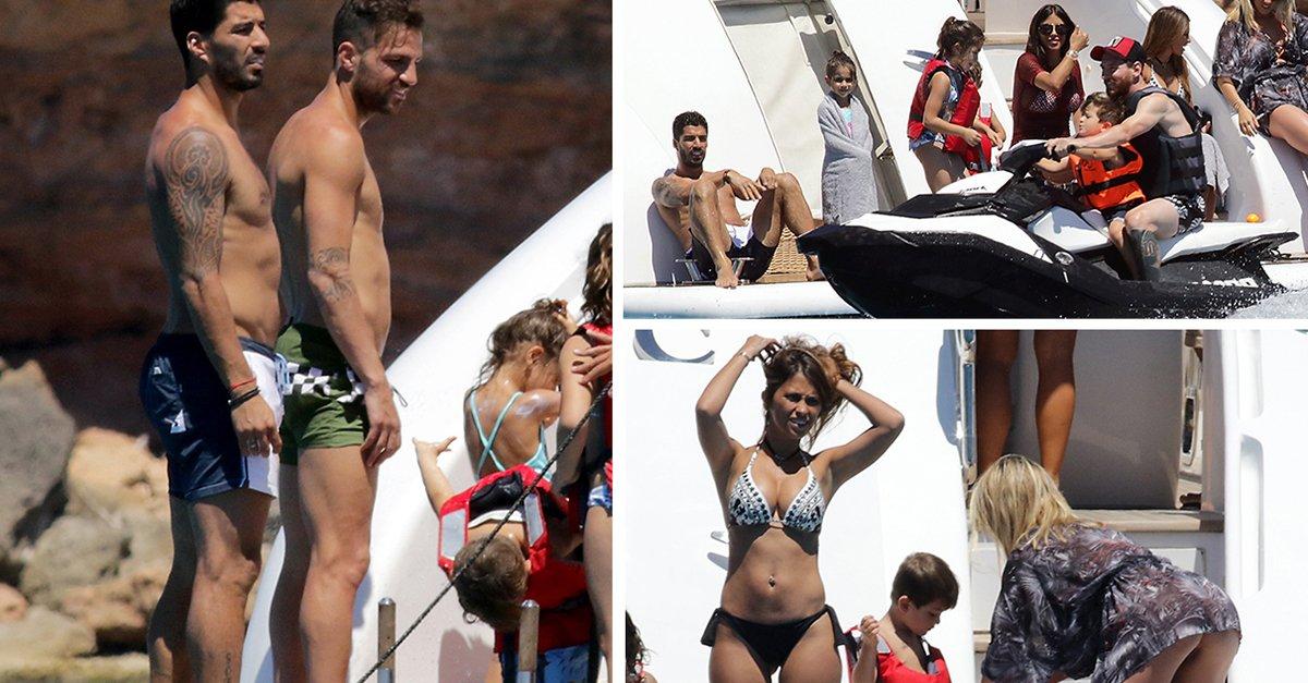 découvrez l'incroyable montant que dépense Lionel Messi par jour pour ses vacances à Ibiza. Photos