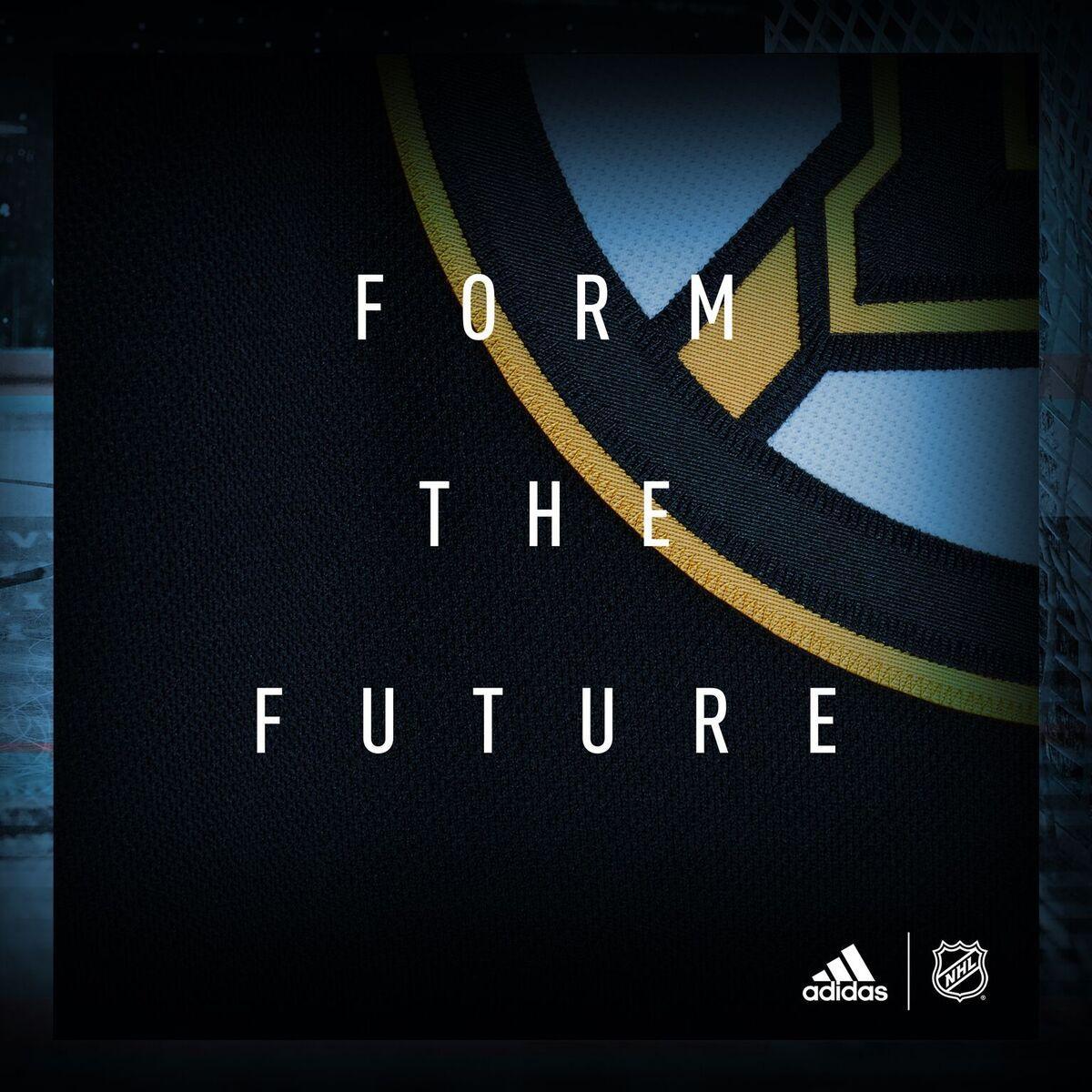 Coming soon. #FormTheFuture @adidashockey https://t.co/wrLHHYBlhr