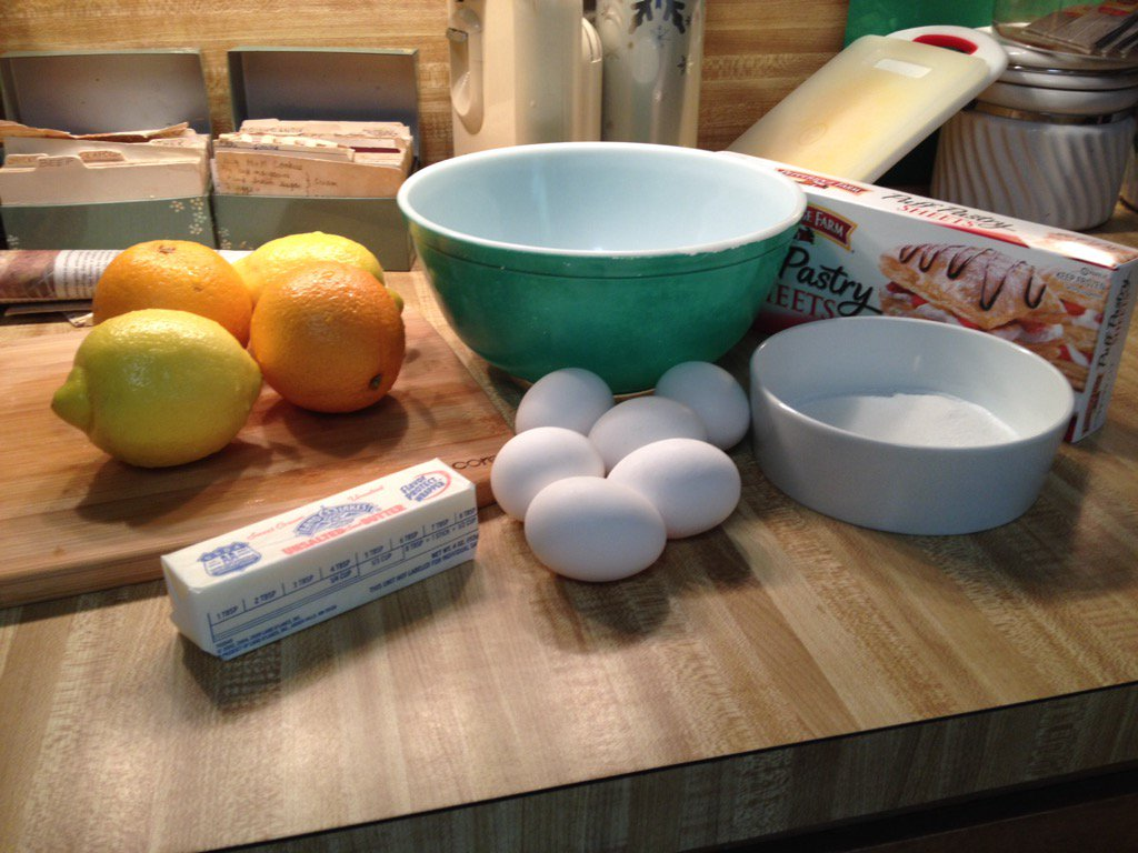 Ingredients ready -- only 6 eggs here. #recipesconf @klahom https://t.co/7eDxkQDVqa