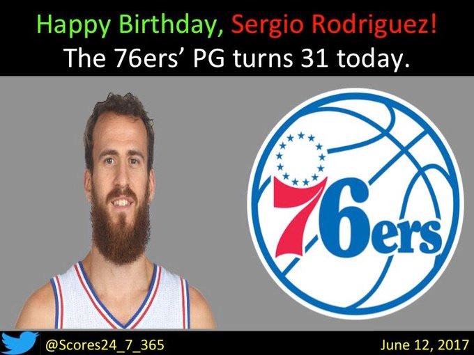 happy birthday Sergio Rodriguez!