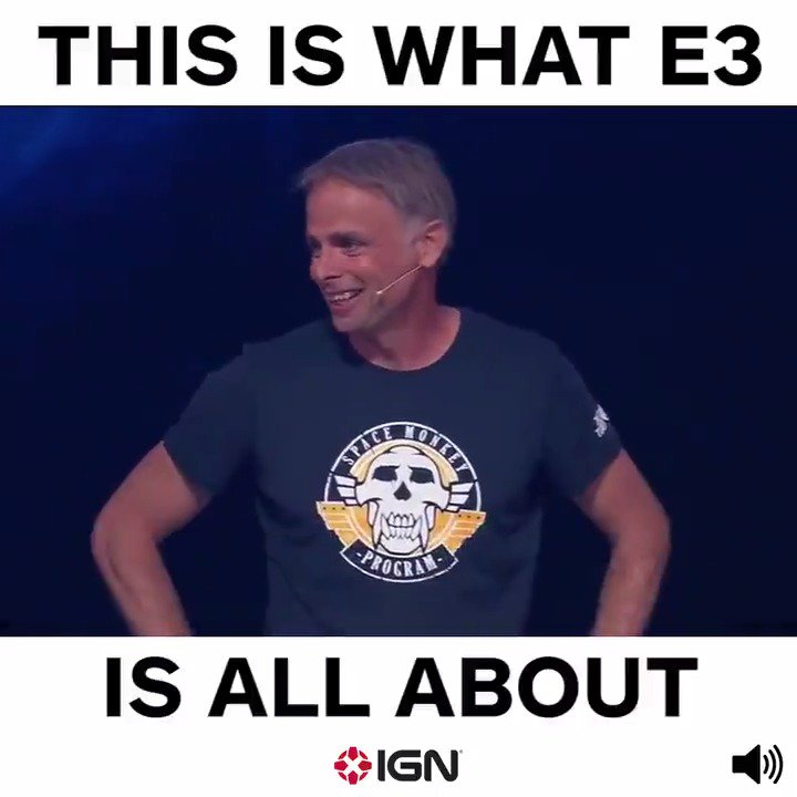 We ❤️ video games. #E32017 #UbiE3