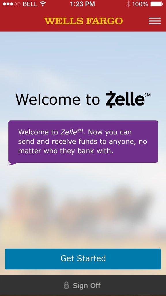 Wells Fargo Zelle Send And Receive