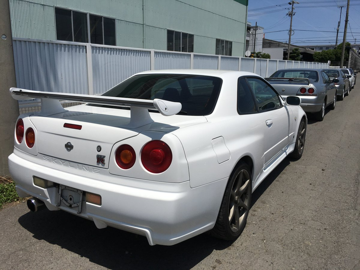 Nissan skyline gtr on twitter ready for shipping to customers straight from japan nissan skyline gtr r34 r33 r32 https t co 3nomwvfnoj