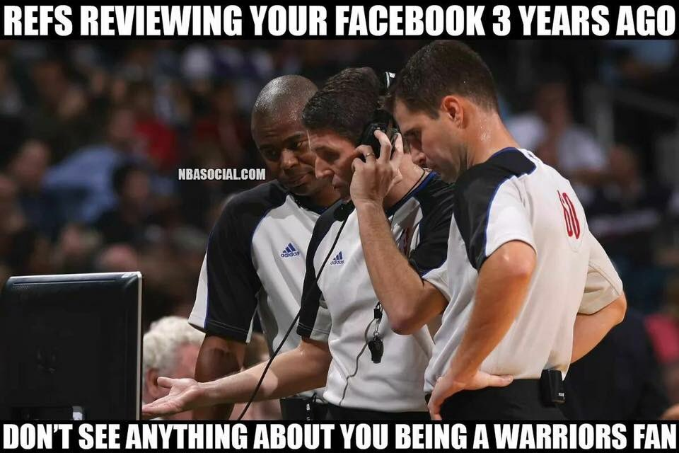 Funny Basketball Memes On Twitter Tag A Bandwagon Warrior Fan