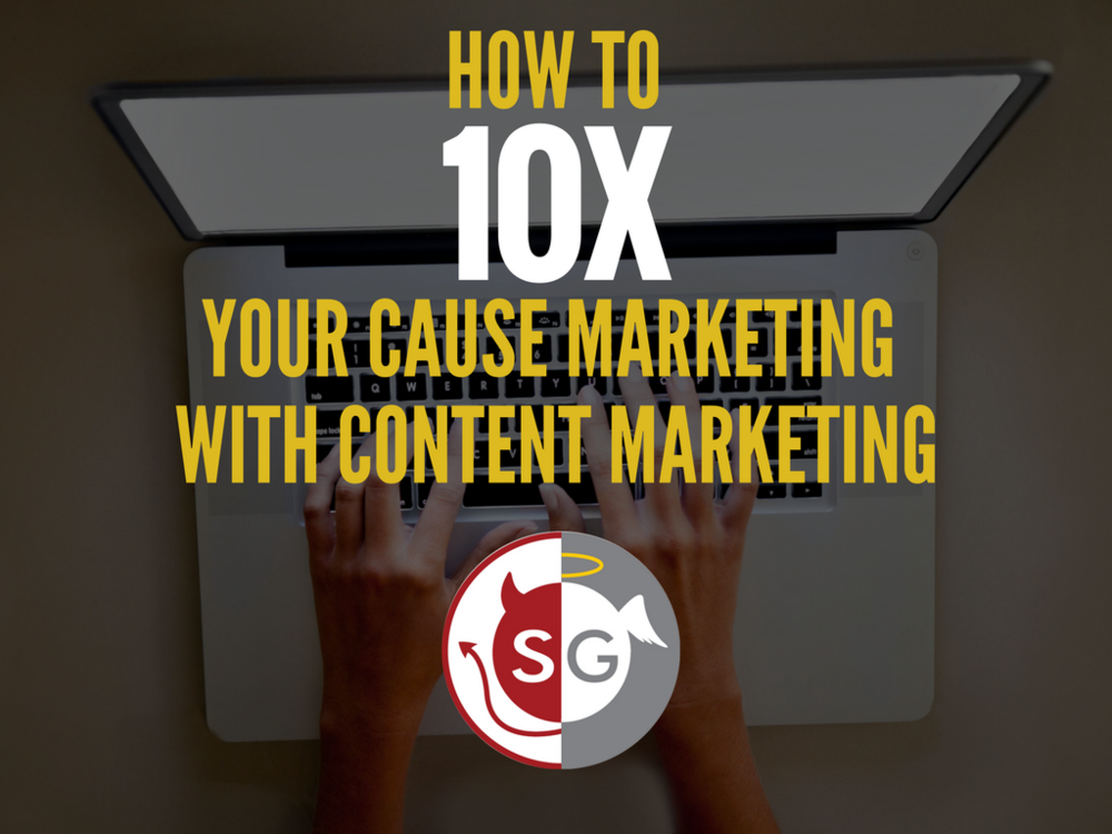 How to 10X Your Cause Marketing with Content Marketing: 3 Strategic Approaches https://t.co/gBXRnnJ80R https://t.co/0Jaf6eOpOQ