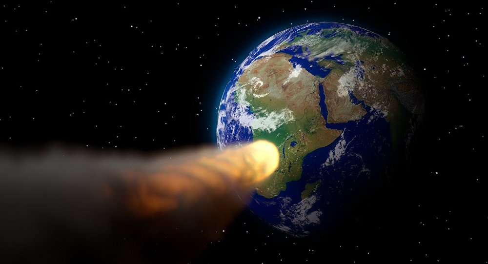 nasa said chances of large meteor hitting earth is slim A newly found asteroid, large enough to wreak worldwide destruction, will cross earth's path in 2019, and although the chance of a collision is slim, astronomers cannot yet rule it out if the asteroid, named 2002 nt7, were to hit, it would be on feb 1, 2019 the odds of that happening are less.