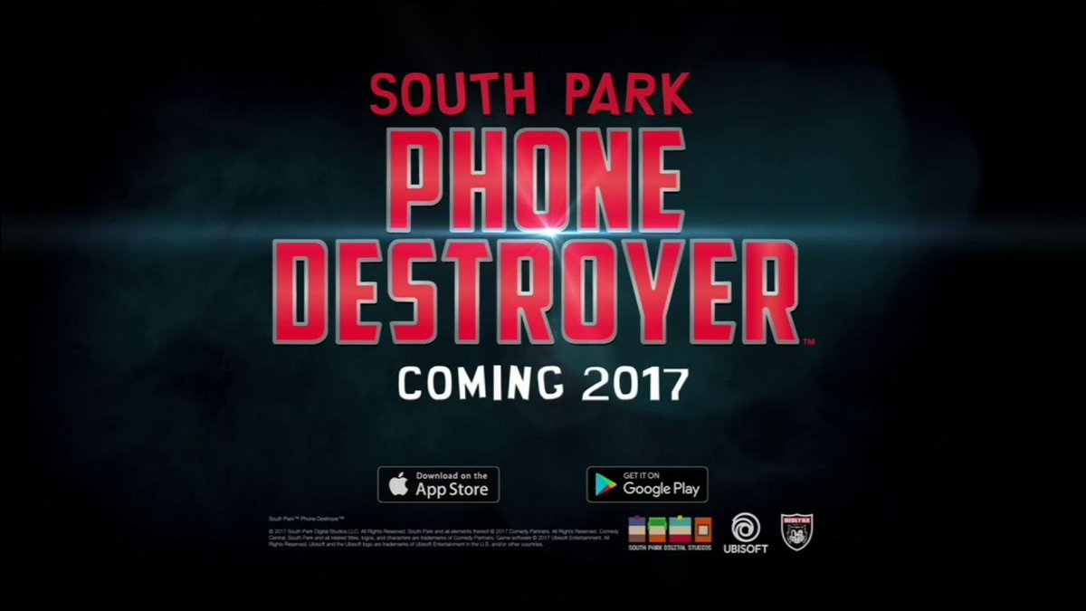 A hilarious new #SouthPark game is coming to mobile! This is #PHONEDESTROYER. #UbiE3 #E32017