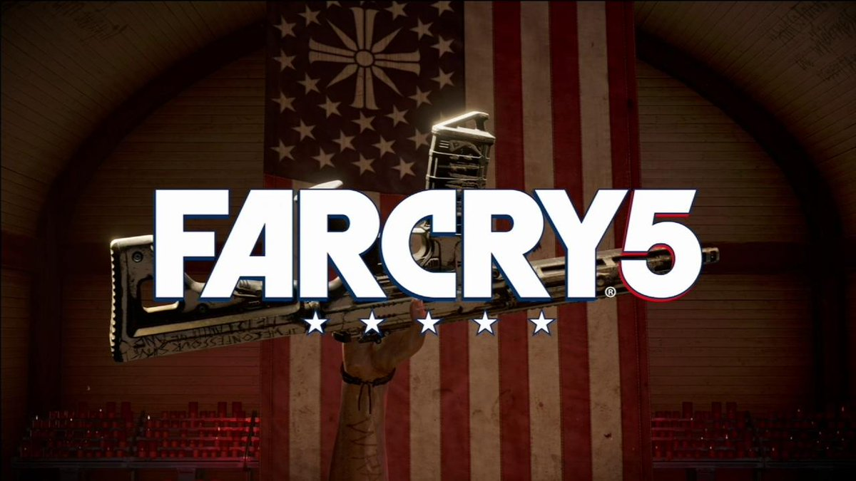 NEW #FARCRY5 TRAILER! Check it out, and this eery rendition of Amazing Grace. #UbiE3 #E32017