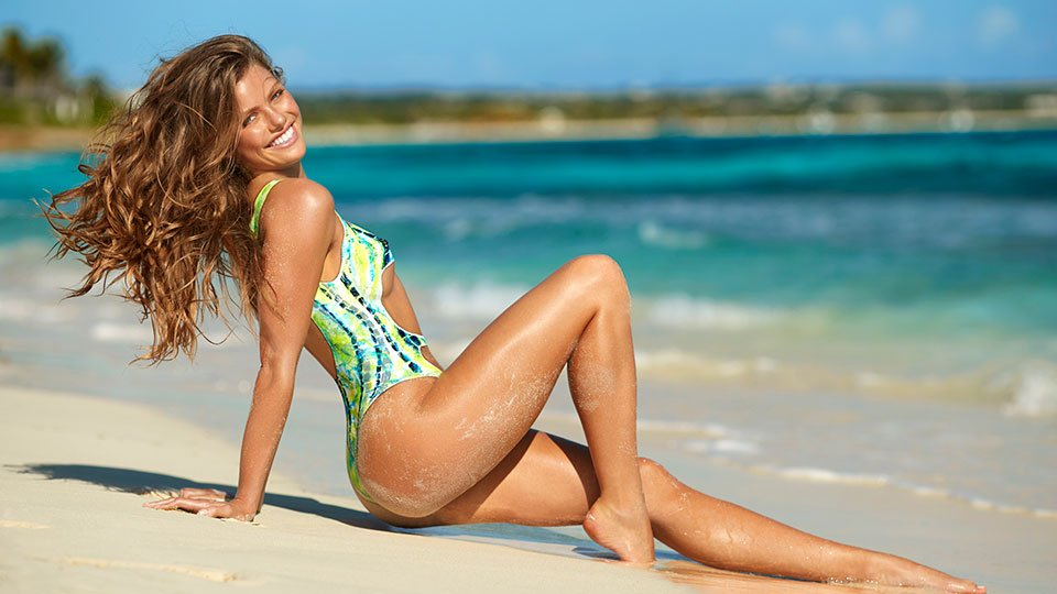 sports illustrated swimsuit 2017 body paint