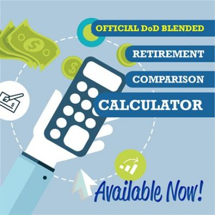 Making it count.   @DPTOfDefense launches #blendedretirement system comparison calculator   https://t.co/xtToVqw7dm