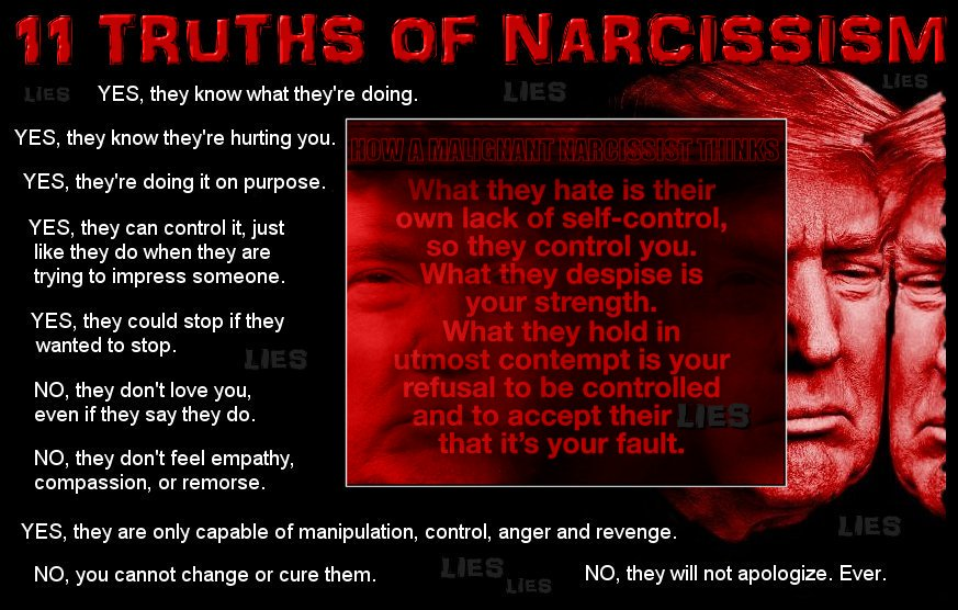 when the narcissist can t control you