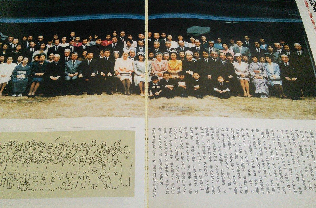 """皇嗣詐欺及び皇女詐欺に抗議します på Twitter: """"ご成婚記念の本に1991 ..."""