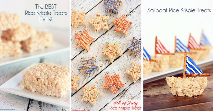 Delicious Rice Krispie Treats!