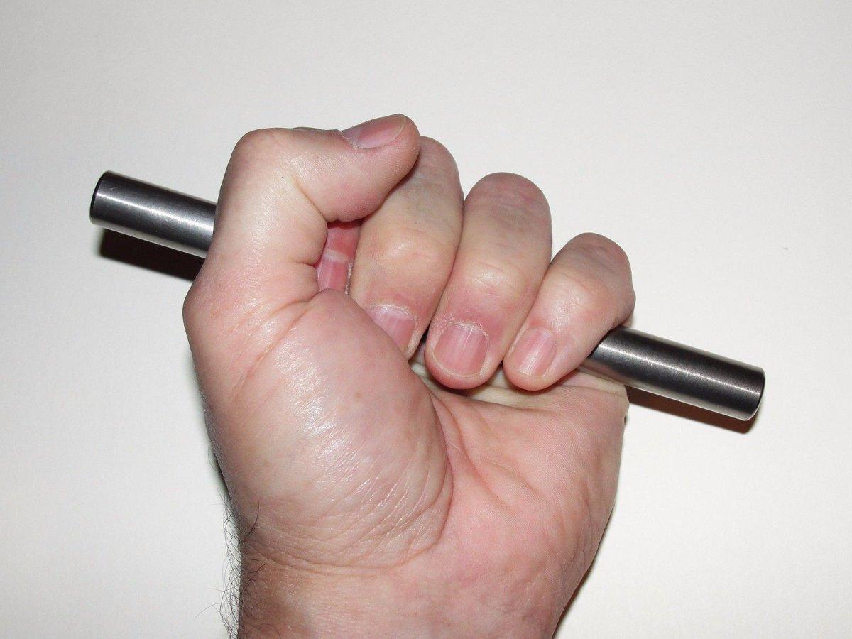 Yawara Stick With Fist-Lock™ Ti Rod Tactical™ Dual Purpose Titanium Trainer