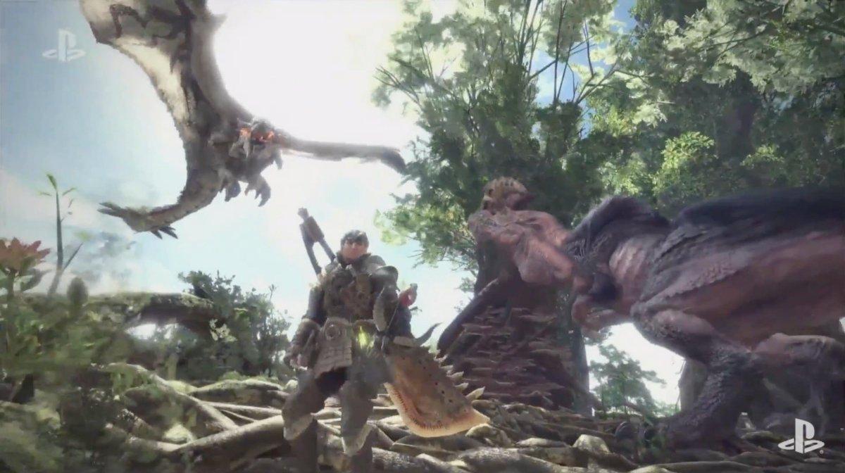 モンハン新作『Monster Hunter World』が発表されました! 2018年初頭に登場! #E3 #SIE #PS4 #PSVR #ギズlive