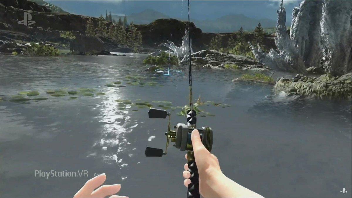 FF15のVR「Monster of the Deep」発表。釣りのVRゲームのようです。9月登場 pic.twitter.com/gRKtby9NjI