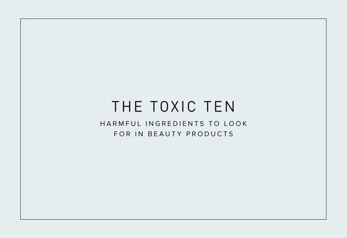 10 Harmful Ingredients Lurking in Beauty Products