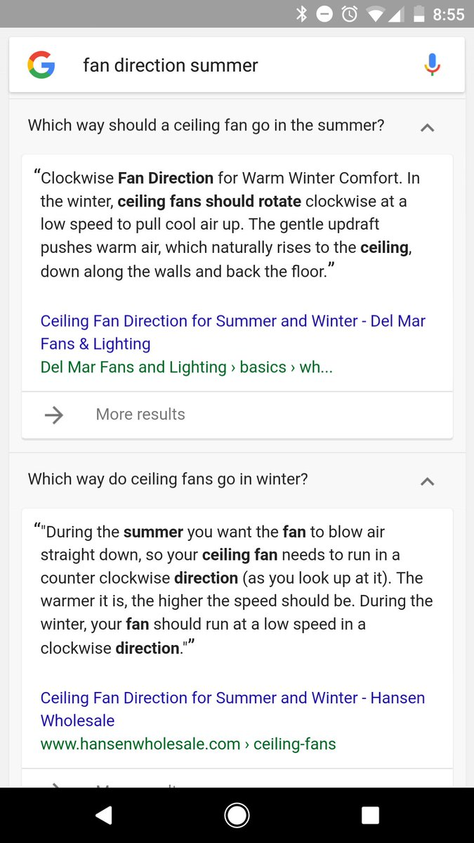 Which Way Should My Ceiling Fan Turn In The Winter Time