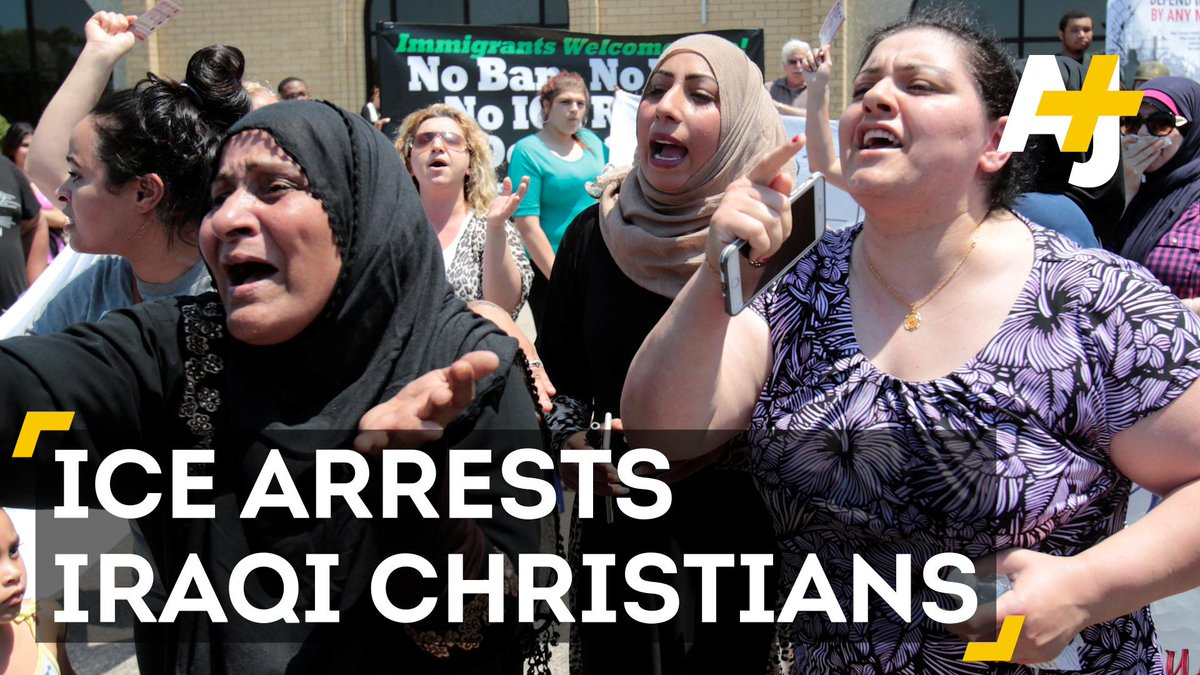 A Detroit judge has temporarily halted deportation of 100+ Iraqi Christians who fear persecution if returned. ICYMI: https://t.co/JpAnOzGBaM
