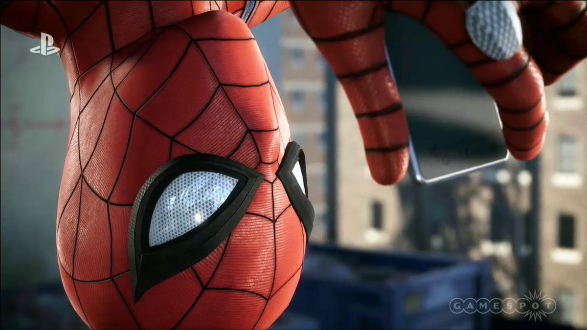 Here's the awesome web-slingin' #SpiderMan gameplay trailer 🕷🕸  #SonyE3 #PlayStationE3