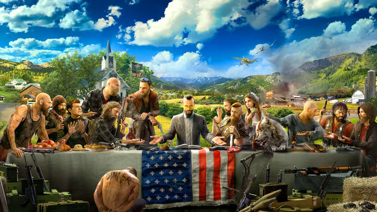 ICYMI: Watch the newest #FarCry5 gameplay from #UbiE3 - https://t.co/nBXSk5vcXp