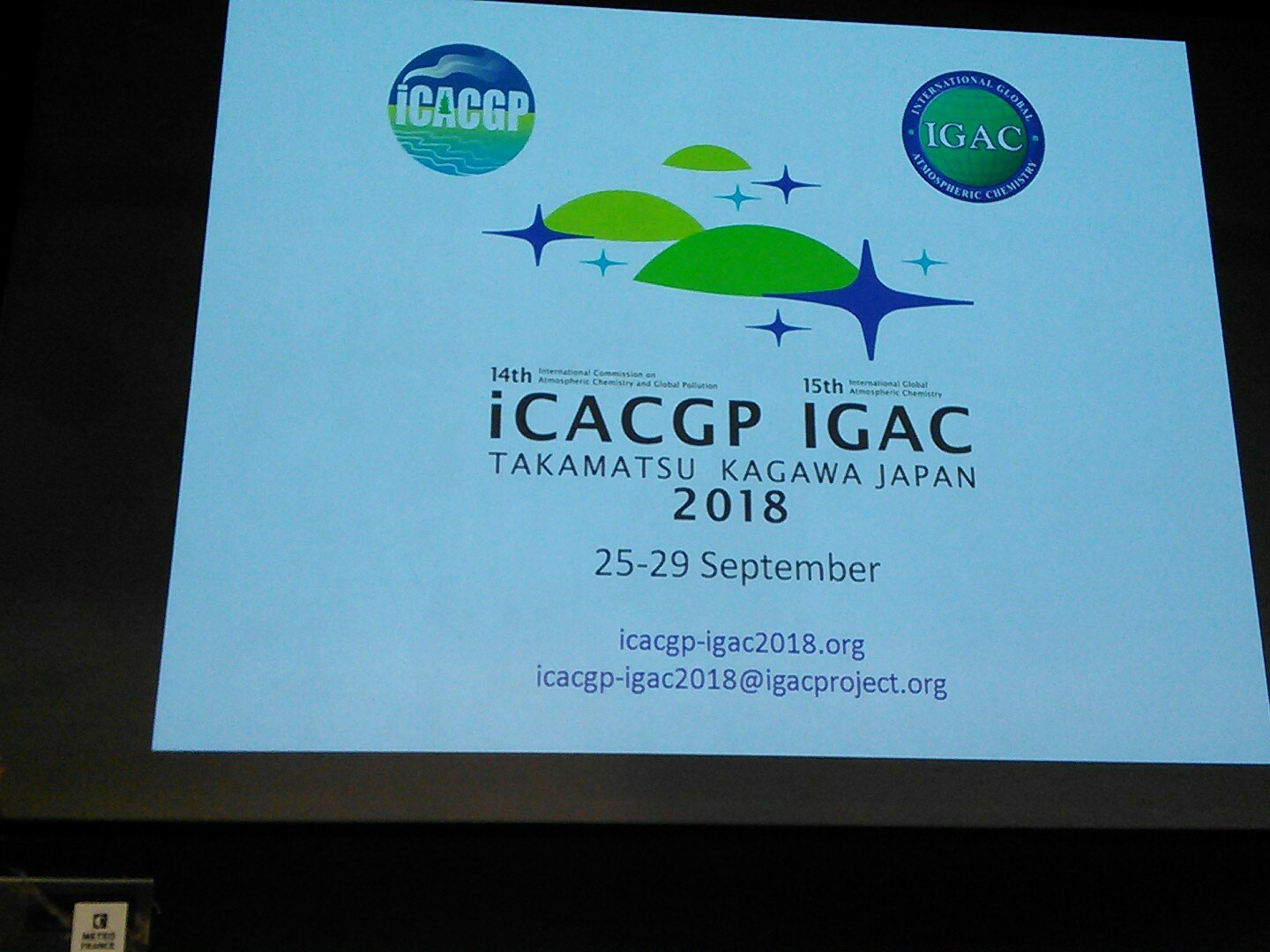 Colette Heald on the goals of IGAC and advertising the next meeting which will be right before the next SPARC general assembly #ccmi2017 https://t.co/tuzOKalGPg